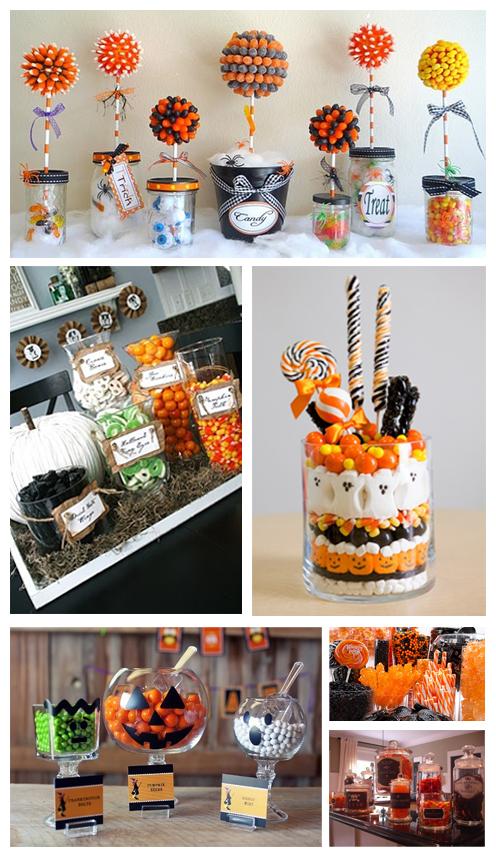 Candy bars fiestas and candy on pinterest - Ideas decoracion bar ...
