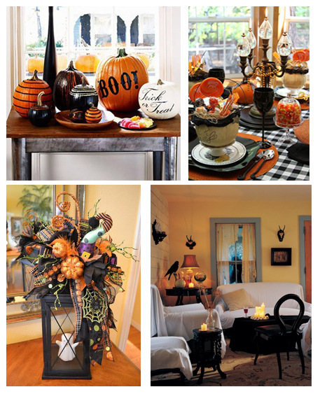 Ideas fiestas and candy on pinterest for Decoracion de halloween