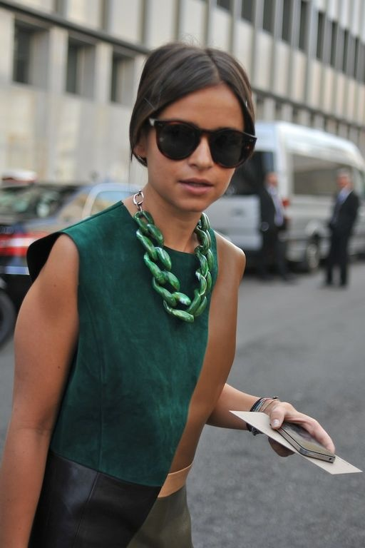 miroslava duma verde esmeralda