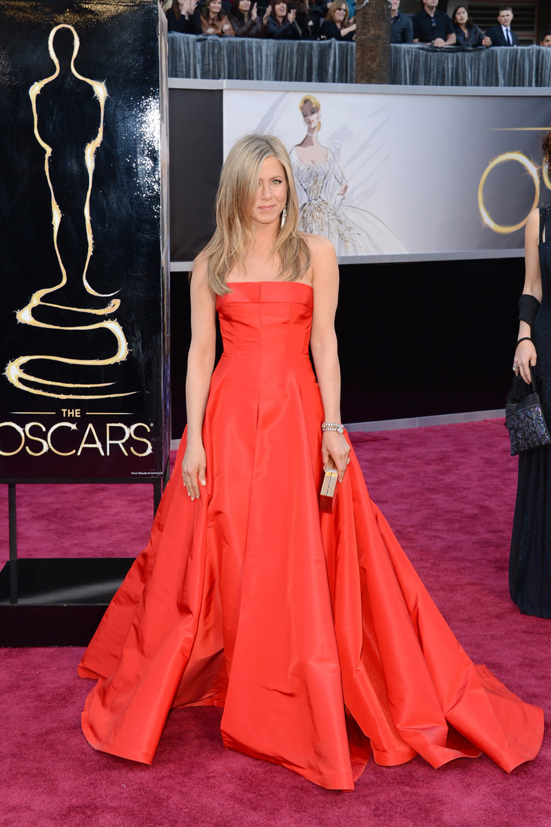 jennifer aniston oscar 2013 valentino