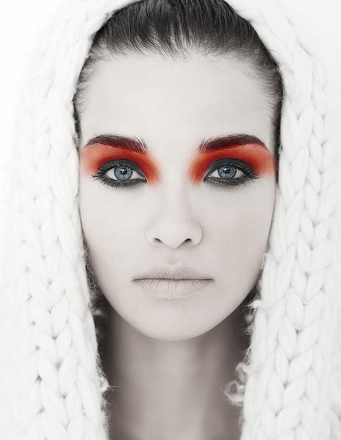 maquillaje naranja