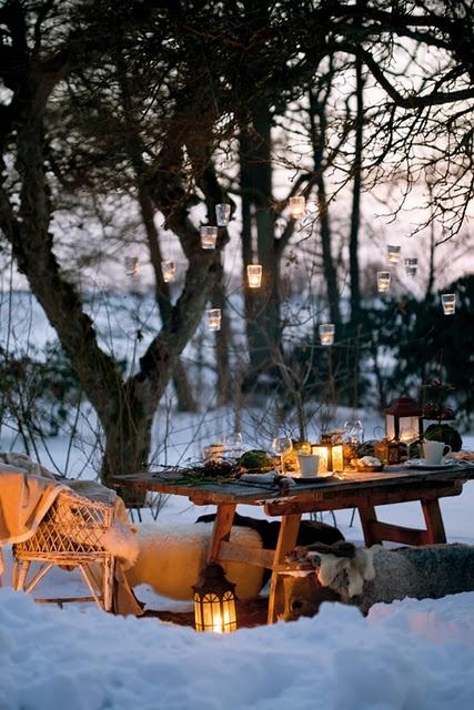 picnic de invierno
