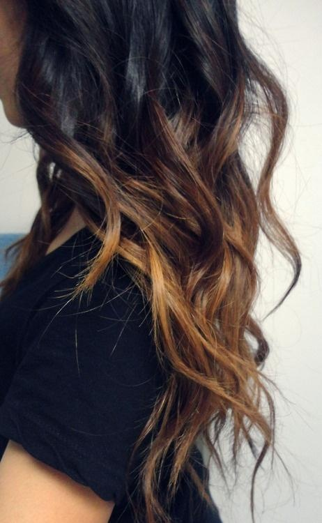 morena mechas californianas