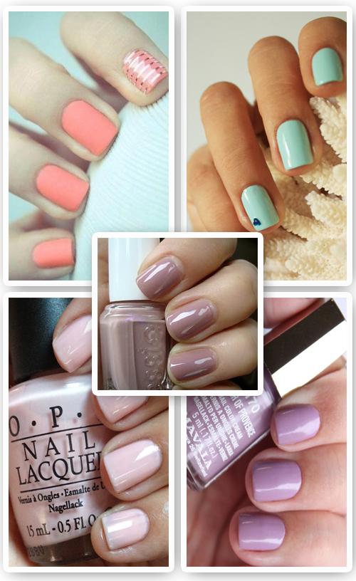 color de uñas primavera