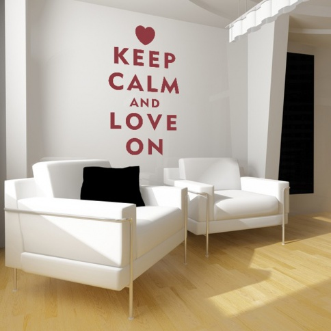 keep calm and carry on decoracion