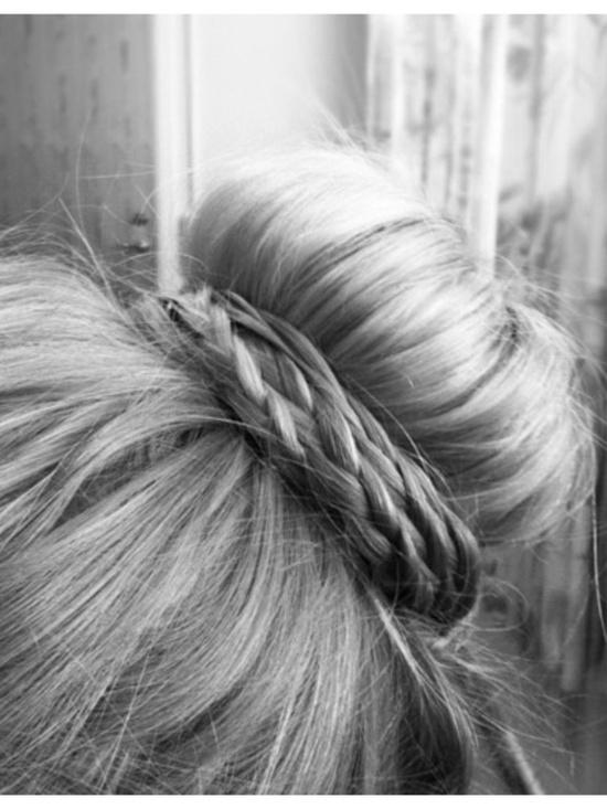 peinados de fiesta
