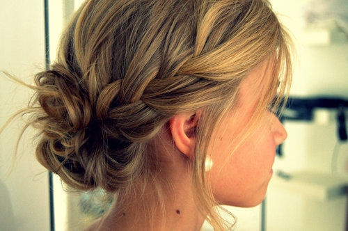 How to style a cascade braided ponytail