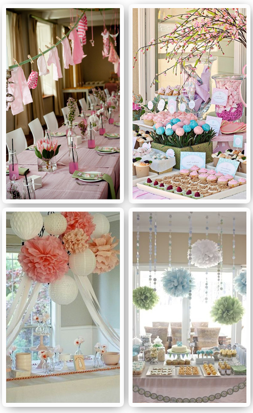 ideas baby shower on pinterest baby showers mesas and fiestas