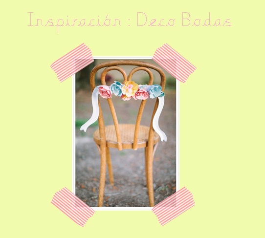 Decoraci n para sillas on pinterest bodas ideas para for Sillas para bodas