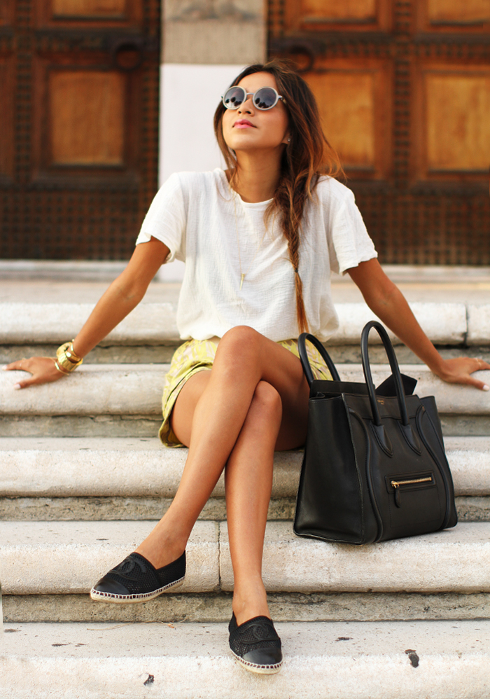 blogger espadrilles chanel