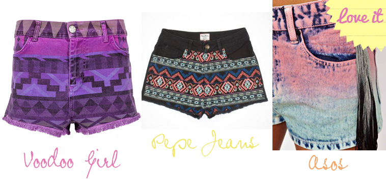 shorts azteca