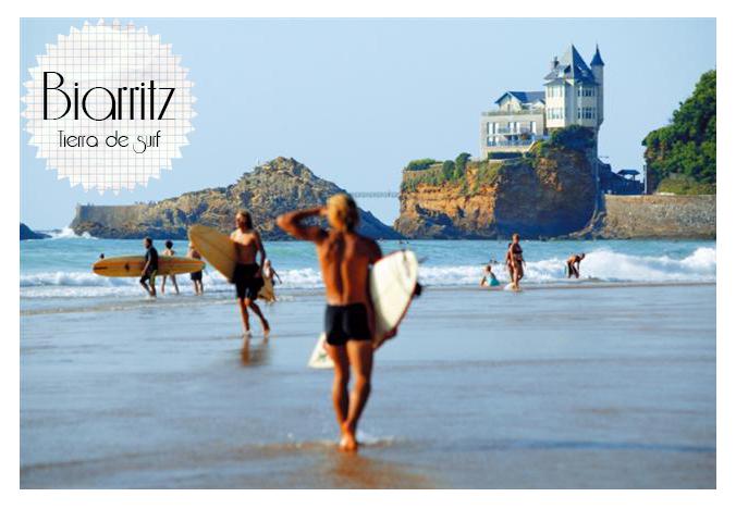 biarritz tierra de surf