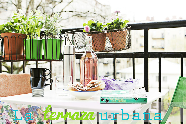 Ideas para decorar una terraza urbana cocktail de - Ideas decorar terraza ...