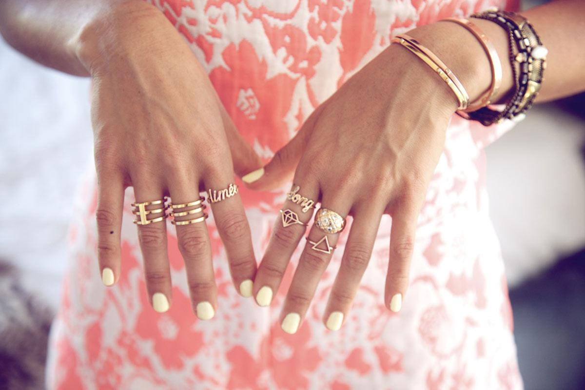 tendencia en anillos
