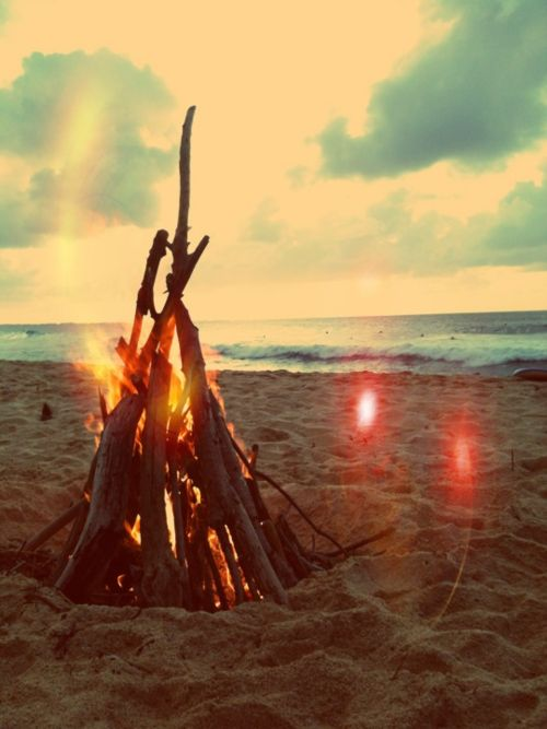 camping en playa