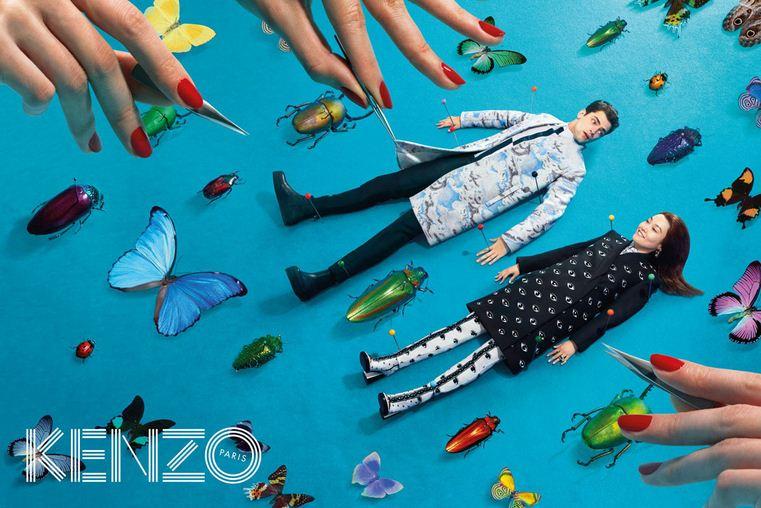 kenzo campaña moda