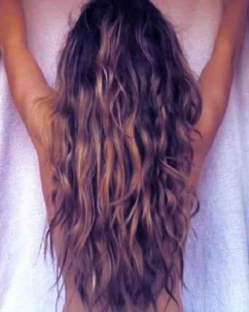 pelo rizado verano