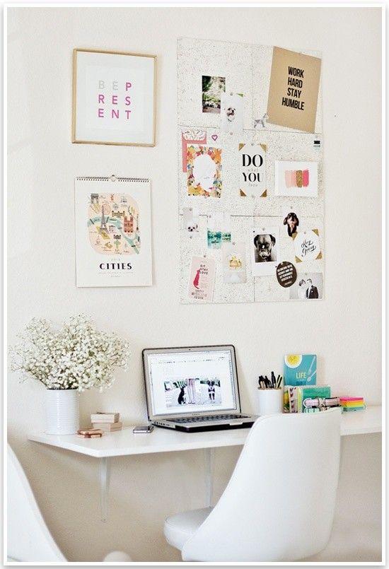 Ideas para decorar tu oficina cocktail de mariposas for Cute desk decorations