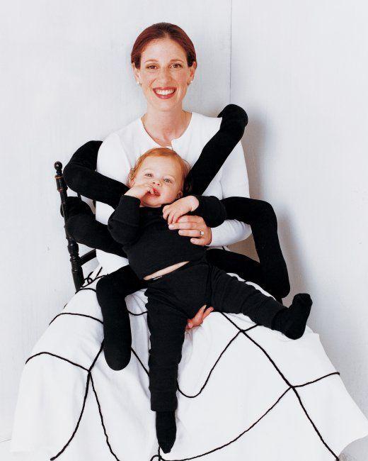 disfraz hallowen mujer y hijo