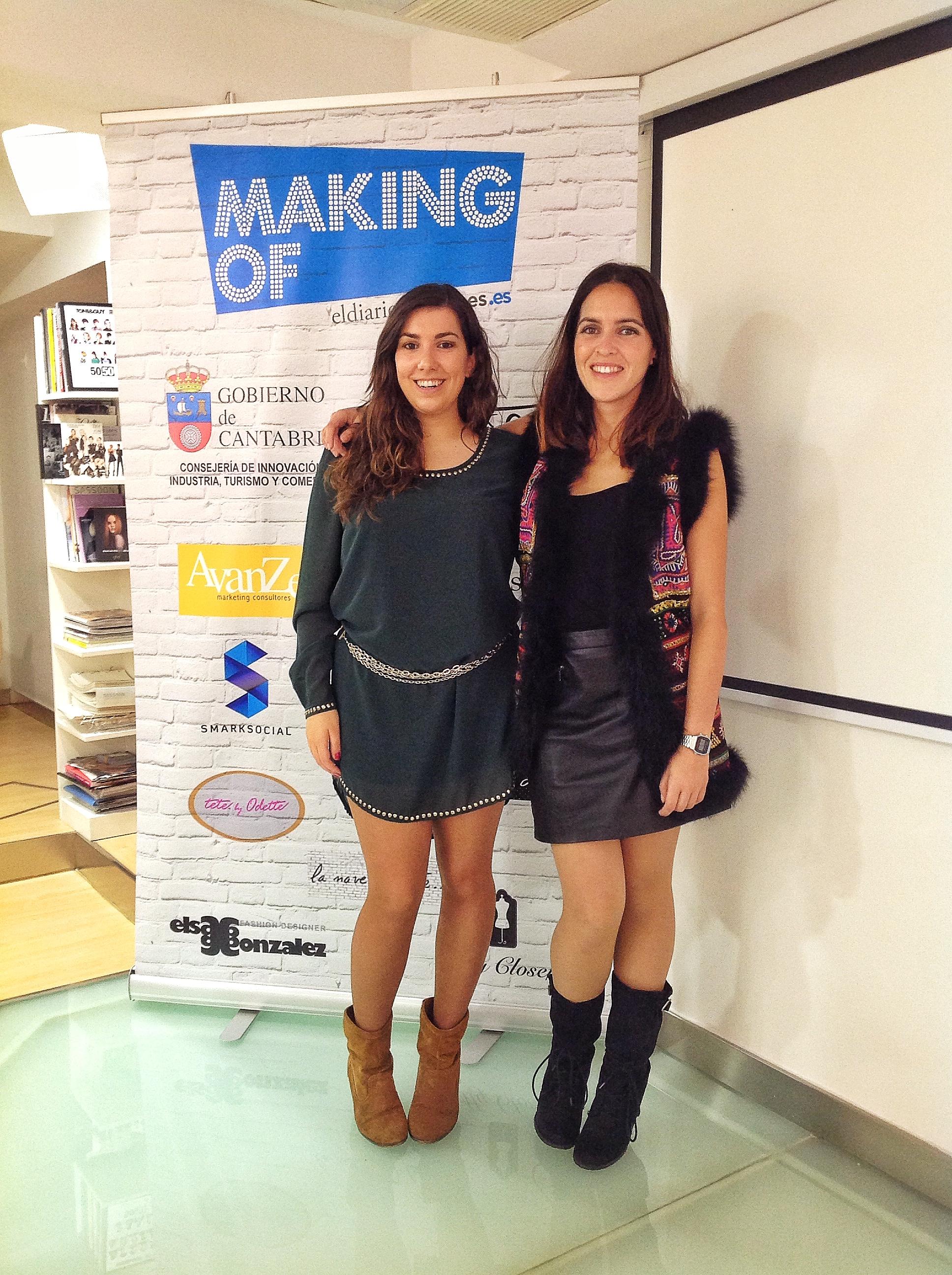 Paula Herrero y yo colaboramos en la organización del evento
