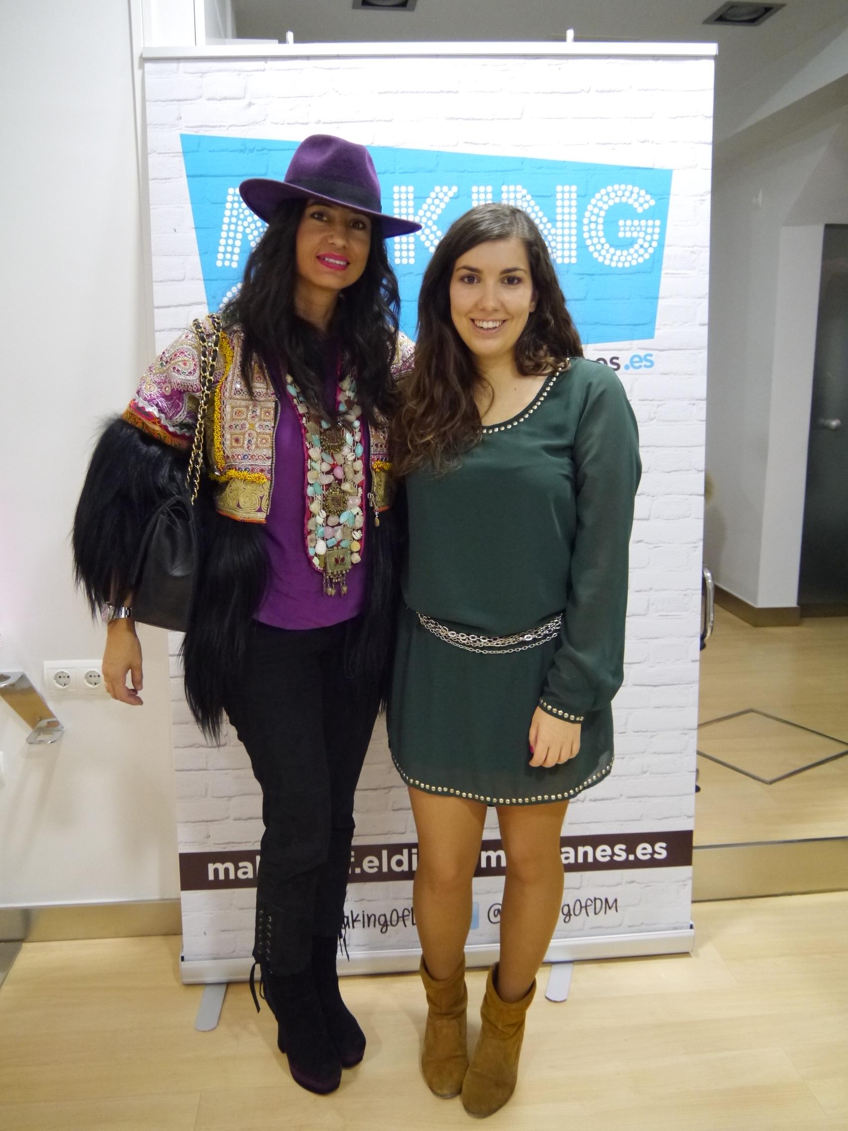 Odette Álvarez, creadora de la firma Teté by Odette, también tiene su propio blog