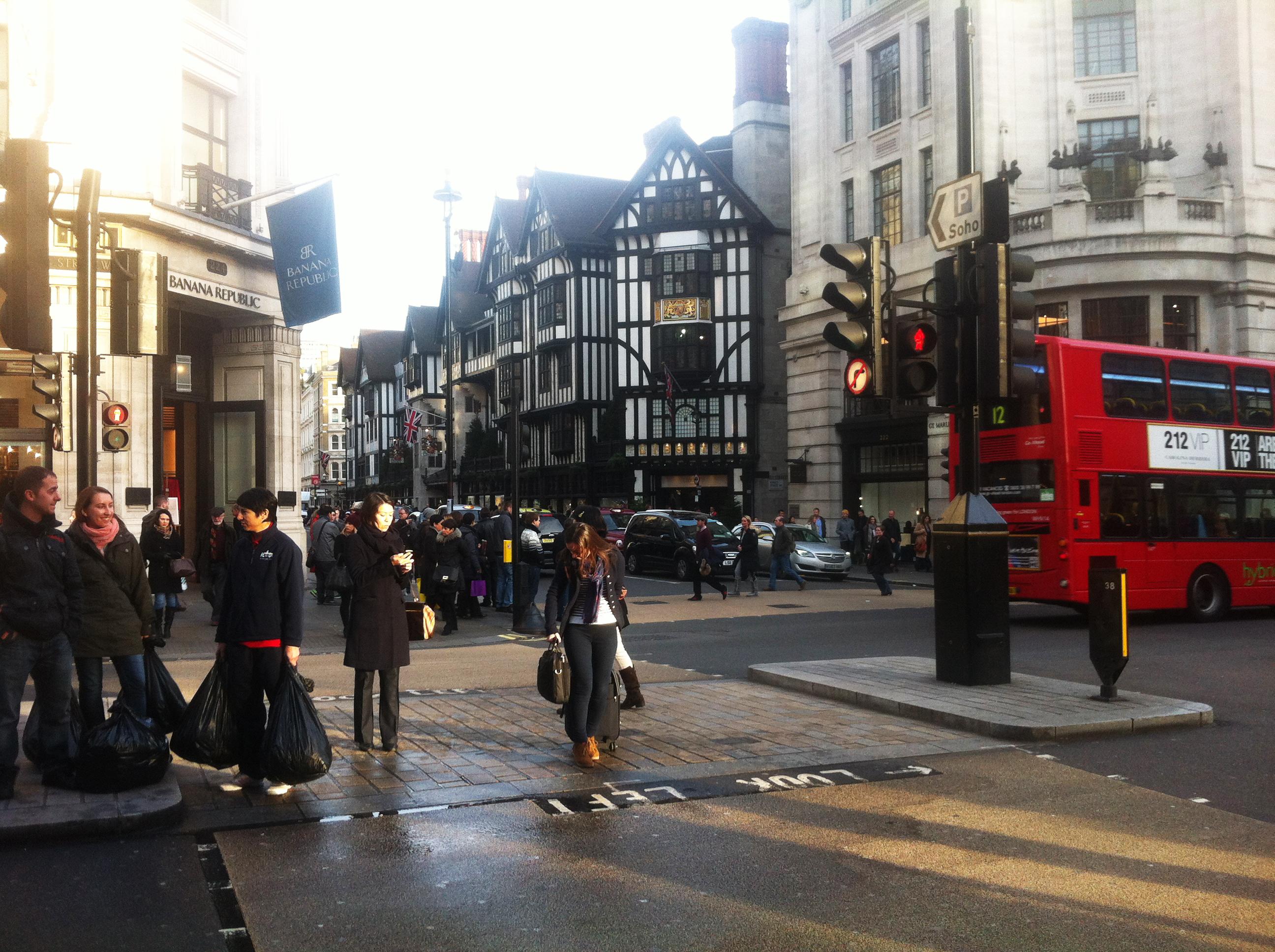 londres calles de compras