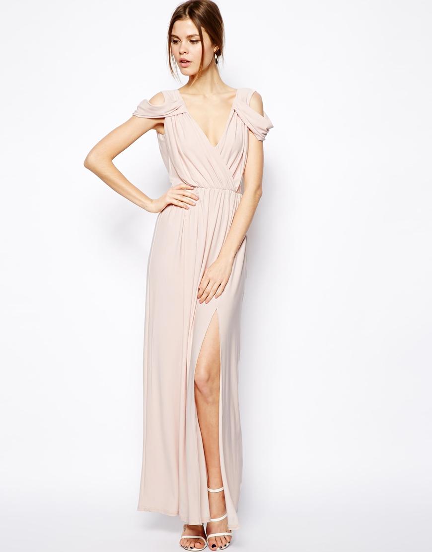 Vestido rosa para boda de dia