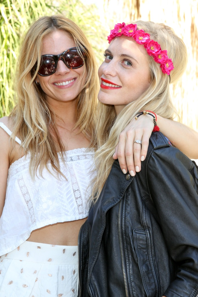 Poppy Delevingne Hosts The Superdry Coachella Brunch