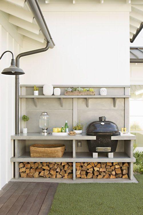 Construir cocina exterior for Cocina exterior jardin