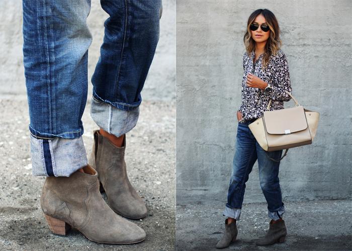 Twinks en jeans y botas de vaquero