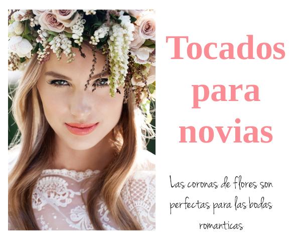 Coronas De Flores Para Novias Ideas Cocktail De Mariposas - Flores-en-el-pelo-para-bodas