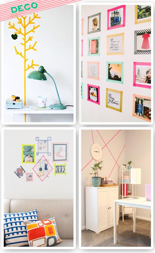 M s de 1000 im genes sobre ideas washi tape en pinterest - Ideas para decorar con washi tape ...
